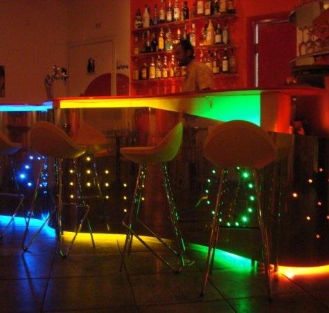 Baobar – Internet Lounge Bar – Roma 2005. Bancone