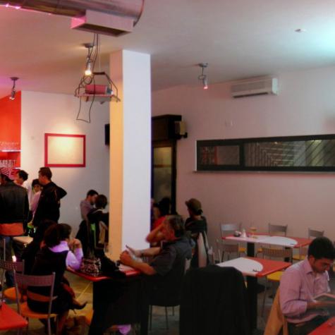 Baobar – Internet Lounge Bar – Roma 2005. Vista d'insieme