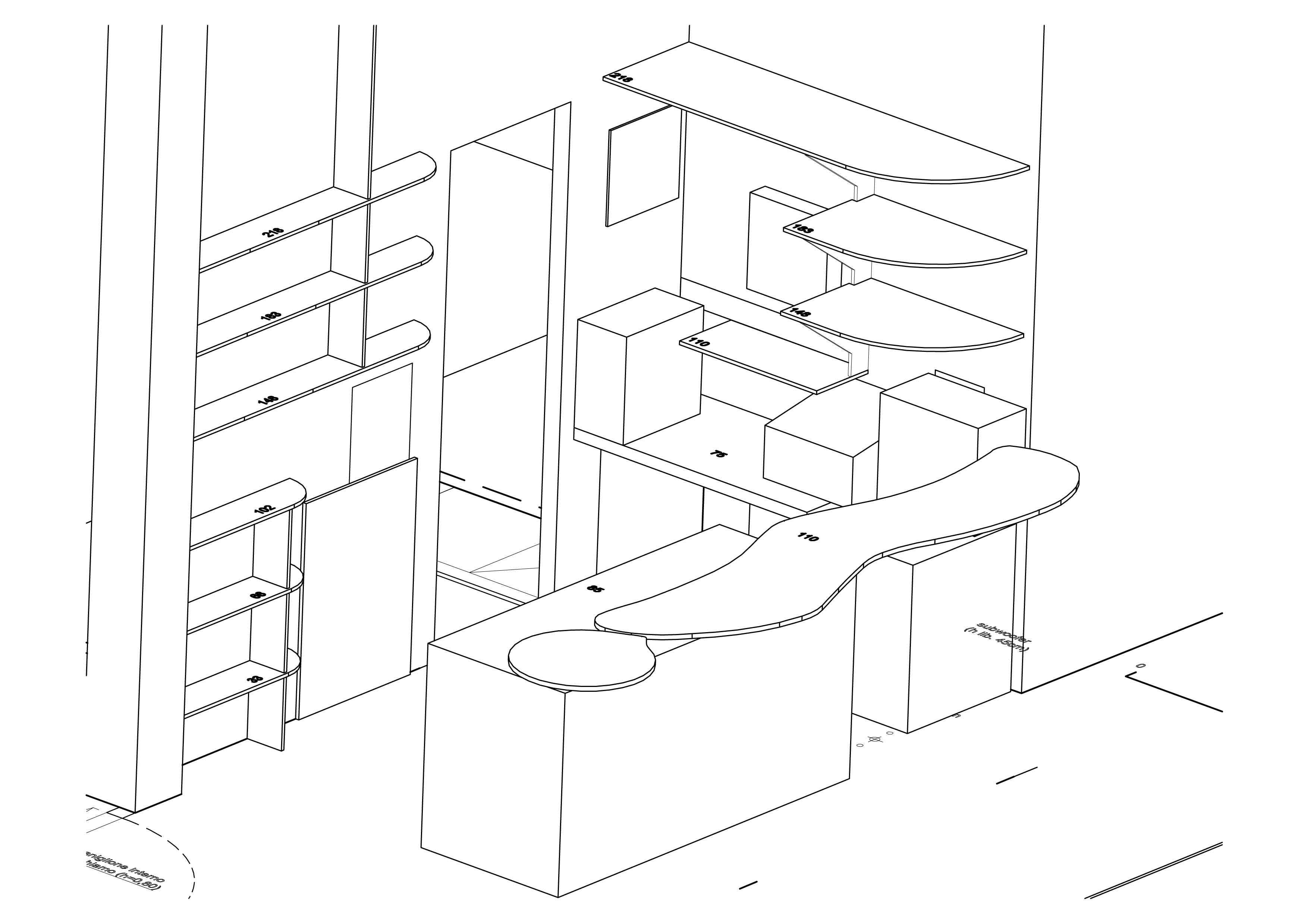 Favoloso Baobar - Giuggiolini Luca Architettura VZ22